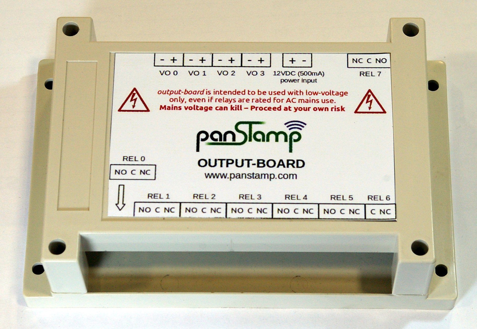 output-board